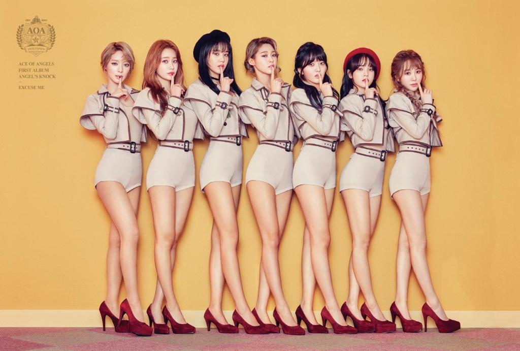 女团AOA(FNC娱乐官网图片)