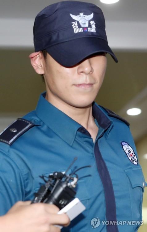 BIGBANG成员T.O.P(韩联社)