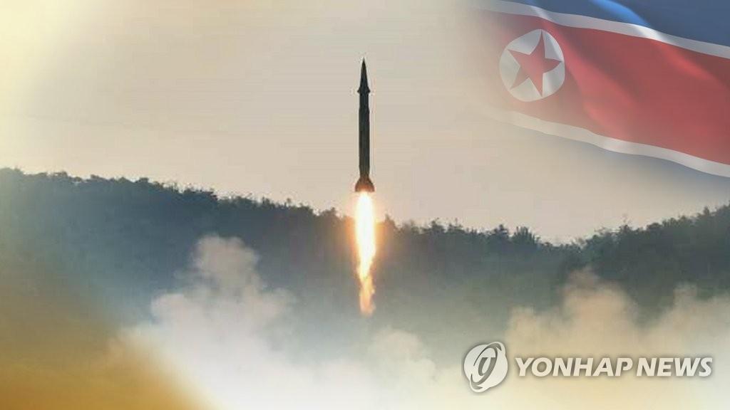 简讯:朝鲜试射多枚疑似地对舰导弹的飞行物 - 1
