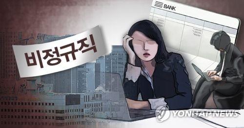 调查:韩六成求职者愿从事临时工岗位 - 1