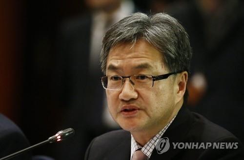 资料图片:美国对朝政策特别代表约瑟夫·尹(韩联社/欧新社)