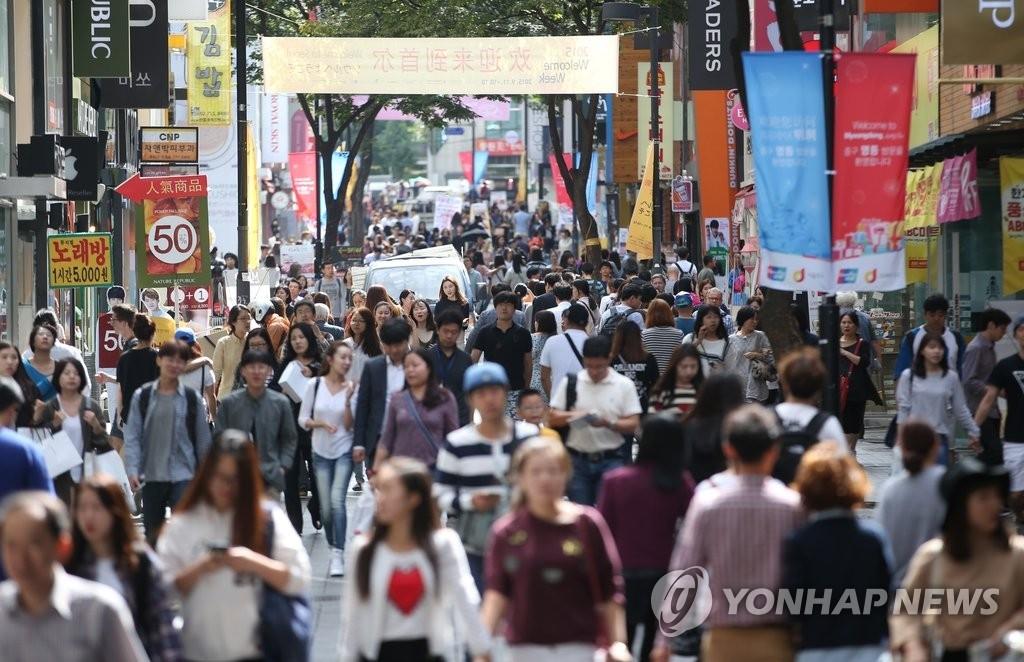 韩国总人口5173万 女多男少加剧 - 1