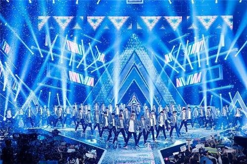 资料图片:《Produce101》画面截图 (韩联社/Mnet电视台提供)