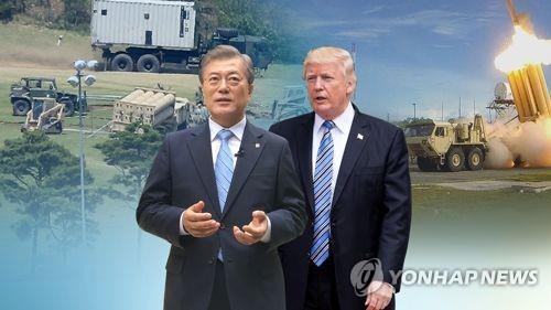 """韩美首脑会谈在即 文在寅外交首战或""""正面突破"""" - 1"""