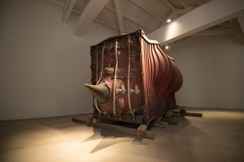 中国艺术家李晖的《Dissociative》将亮相阿拉里奥西岸空间开幕展。(韩联社/阿拉里奥提供)