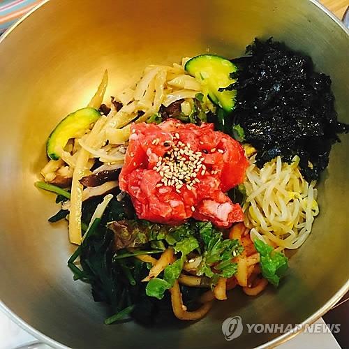 """""""文特会""""晚宴吃韩国拌饭 象征和谐与合作"""