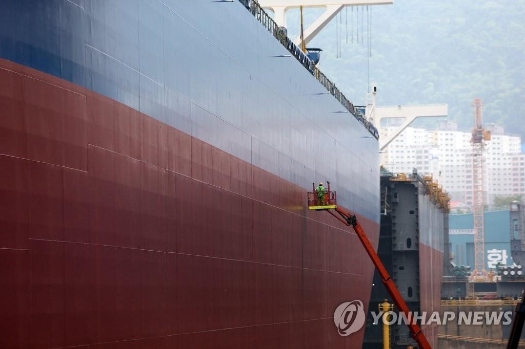 韩造船厂上半年订单量重回全球第一 - 1