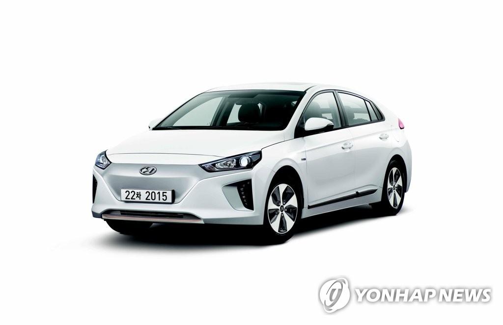 现代汽车IONIC电动版(韩联社)