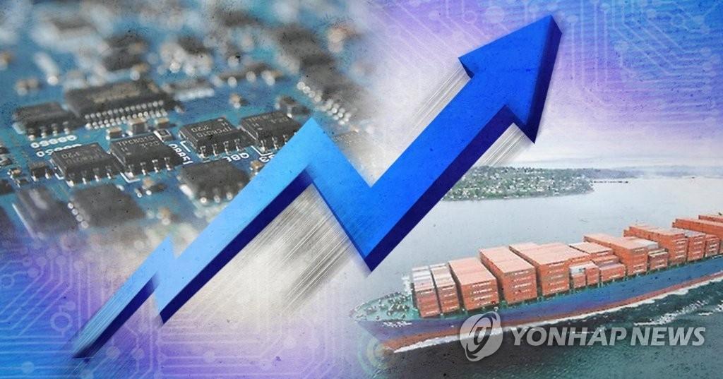 韩7月上旬出口同比增长38.5% - 1