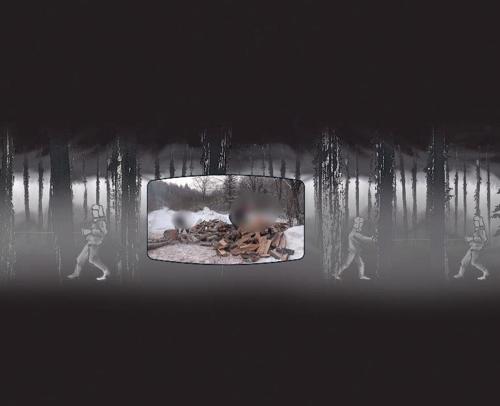 VR动漫纪录片《在路上的日子》剧照 (韩联社内容事业部/Caleb传教会提供)