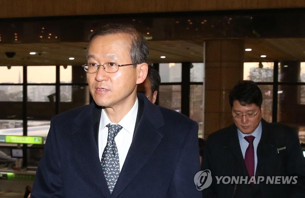 资料图片:韩国外交部第一次官林圣男 (韩联社)