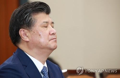 资料图片:雇佣劳动部长官被提名人赵大烨 (韩联社)