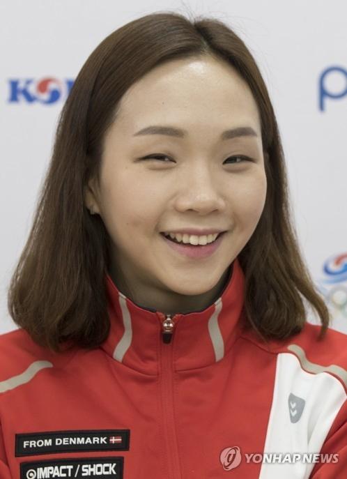 资料图片:韩国游泳选手金瑞英(韩联社)