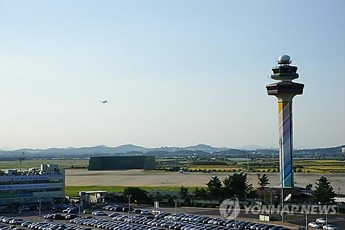 资料图片:金浦机场(韩联社)
