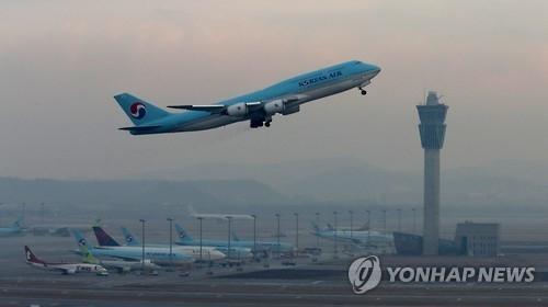 2017年上半年韩中航线客运量同比减两成 - 1