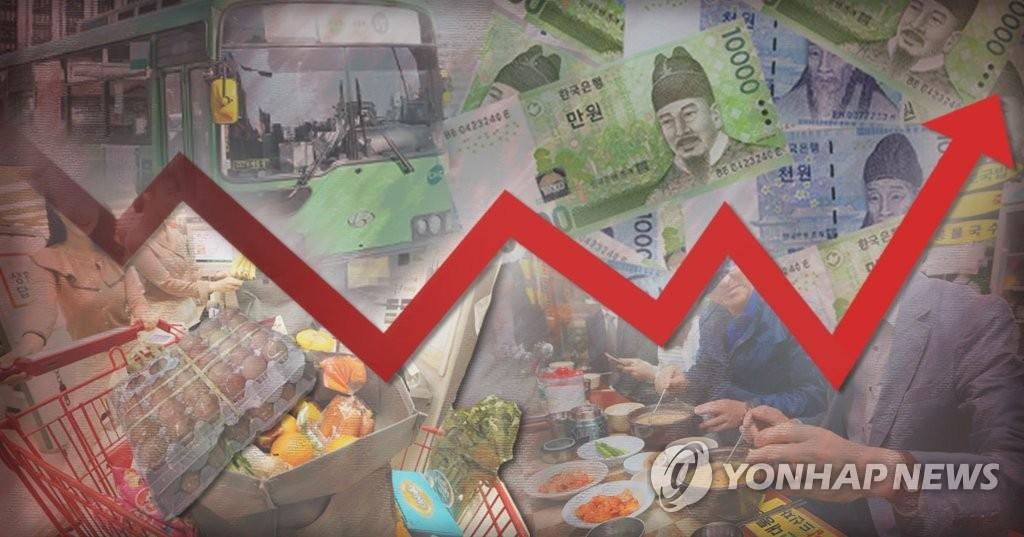 详讯:韩7月CPI同比上涨2.2% - 1