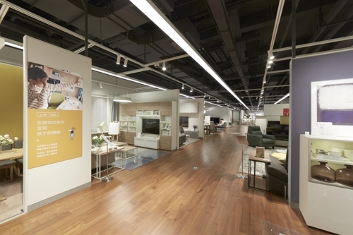 汉森家居上海旗舰店将于8月8日盛大开业。(韩联社/汉森家居提供)