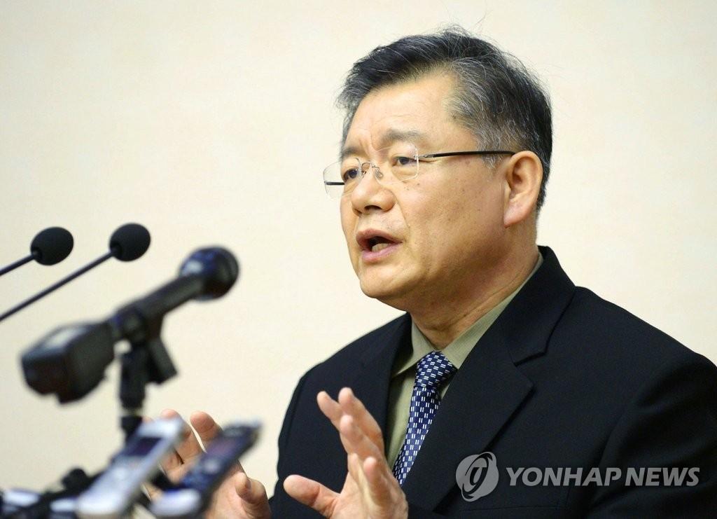 资料图片:加拿大籍韩裔牧师林贤洙(韩联社)