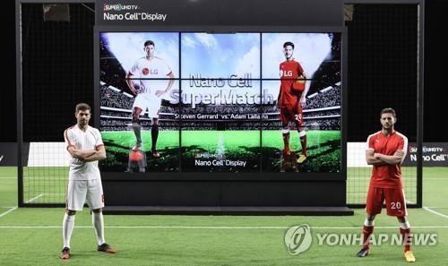 "LG电子""LG Nano Cell TV""广告视频(韩联社/LG电子提供)"