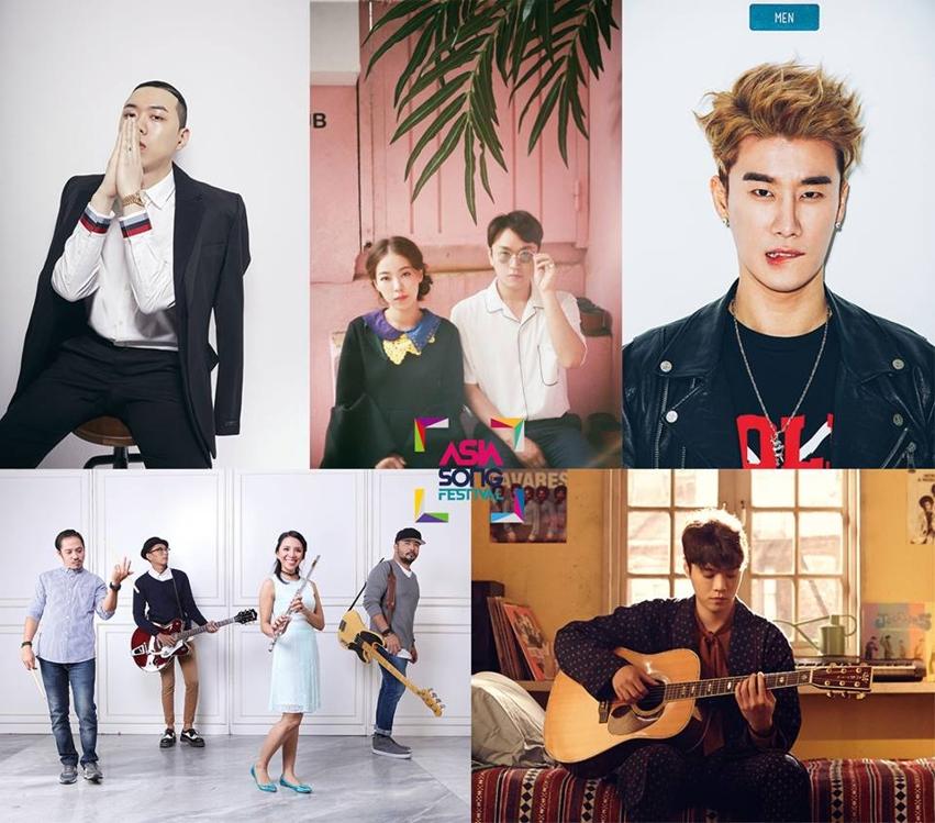 2017亚洲音乐节预告照(主办方官方脸谱)