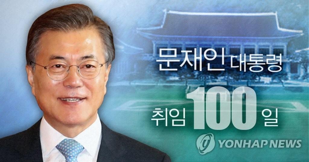 民调:逾七成韩民众对文在寅施政给予积极评价 - 1