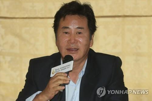 资料图片:演员刘东根(韩联社)