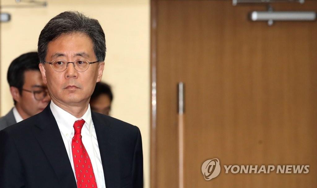 韩国产业通商资源部通商交涉本部长金铉宗(韩联社)