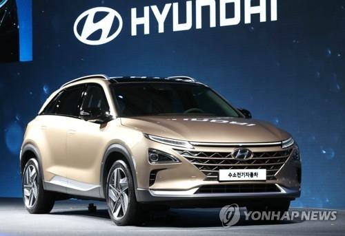 现代新一代氢燃料电池车(韩联社)