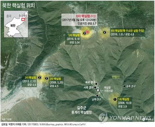 详讯:韩军推定朝鲜丰溪里爆发核地震 - 1