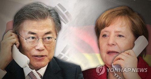 韩德领导人通话商定促安理会通过更强对朝制裁决议 - 1