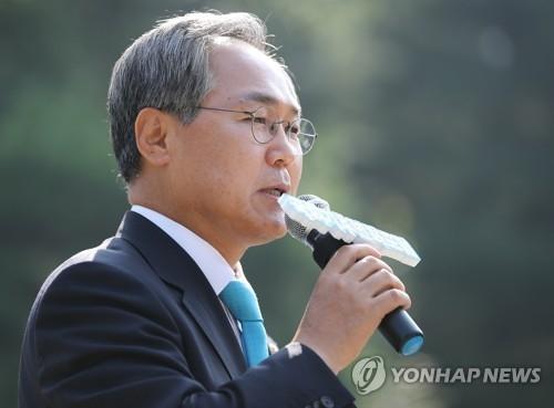 资料图片:韩国驻俄大使被提名人禹润根(韩联社)
