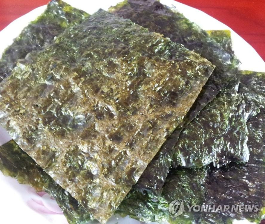 韩紫菜出口创新高 今年前8月超去年全年 - 1