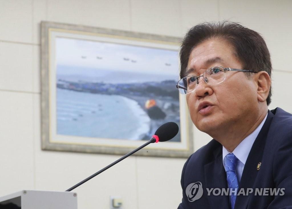 资料图片:韩国国防部次官(副部长)徐柱锡(韩联社)