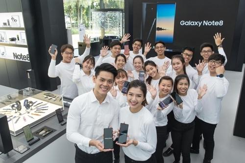 三星电子设在新加坡的Galaxy Studio