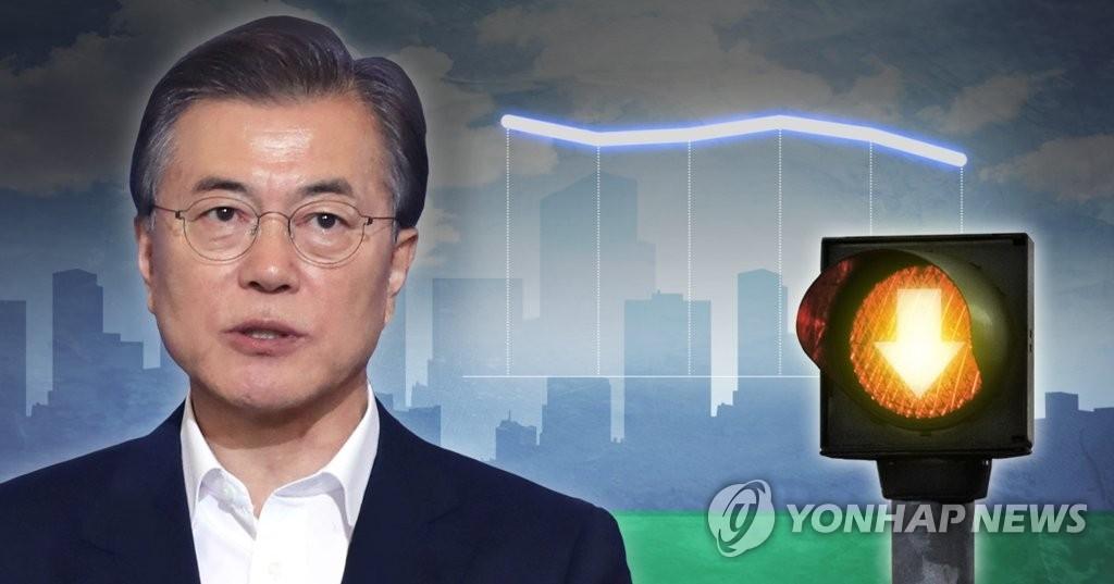 韩国总统文在寅(韩联社)