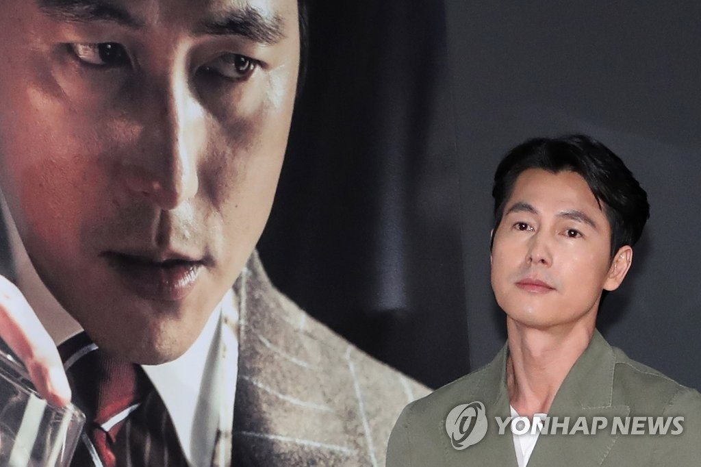 资料图片:演员郑雨盛(韩联社)