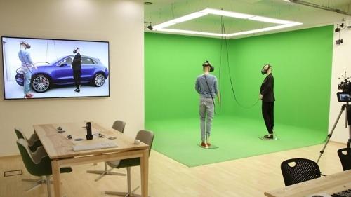 未来汽车虚拟现实体验空间(光州设计双年展提供)