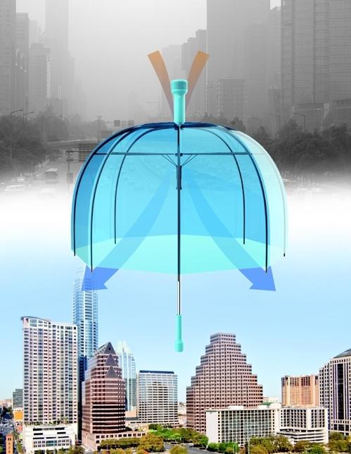 便携式空气净化器(韩联社/光州设计双年展提供)