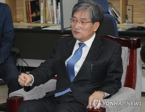 韩国新任驻华大使卢英敏 (韩联社)