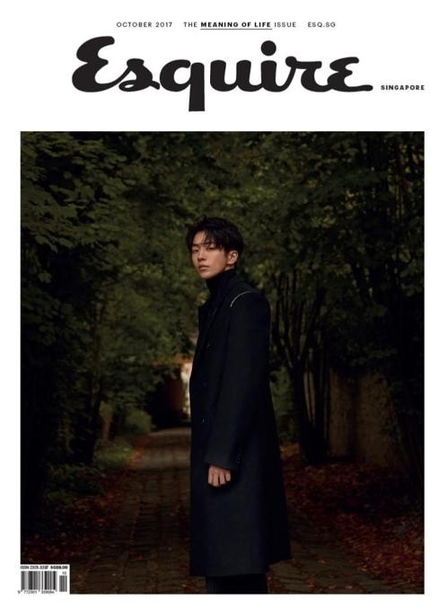 《时尚先生》新加坡版十月号封面