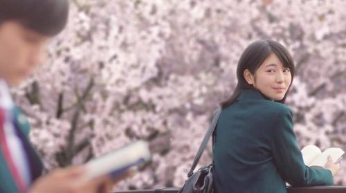 资料图片:《我想吃掉你的胰脏》主演滨边美波(韩联社)