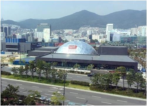 釜山漫威虚拟现实体验馆(体验馆运营商WOW PLANET提供)