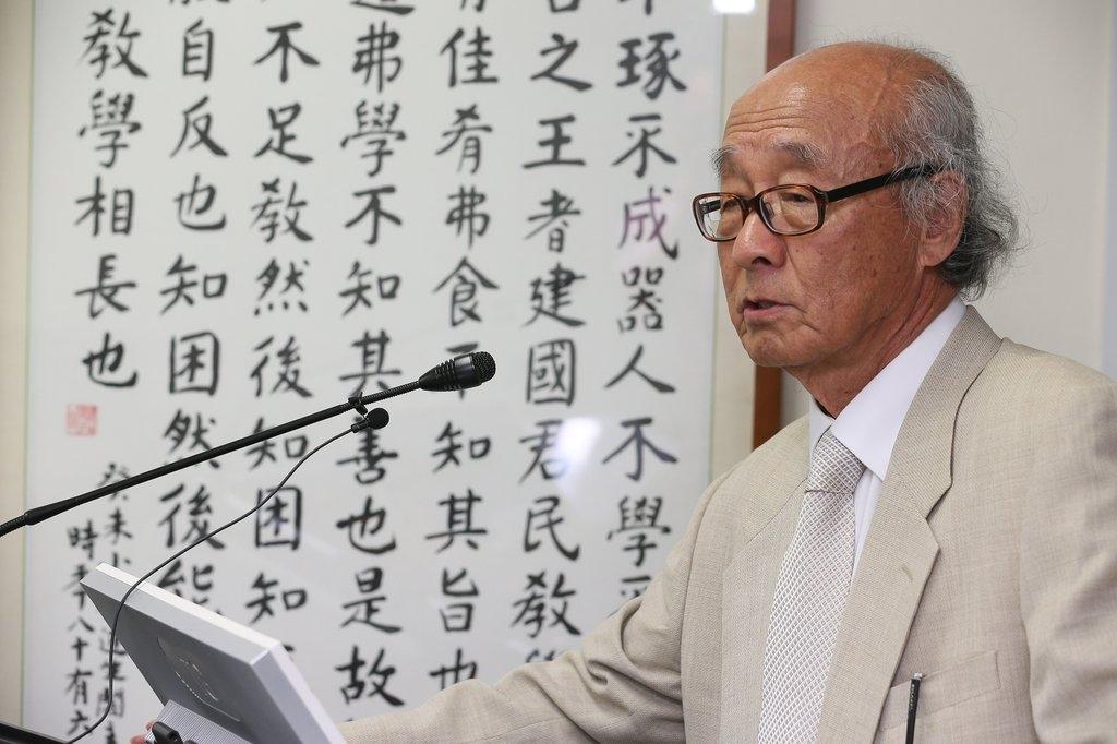 资料图片:朴汉植教授(韩联社)