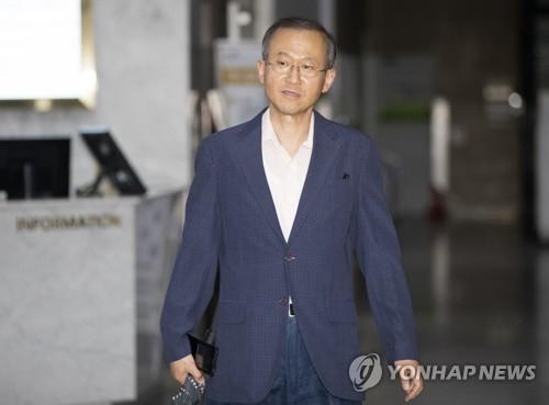 韩国外交部第一次官林圣男(韩联社)
