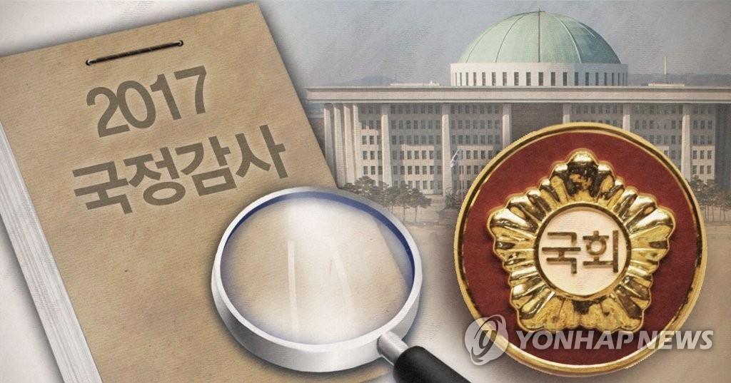 韩国国会启动国政监查 朝野议员针峰相对 - 1