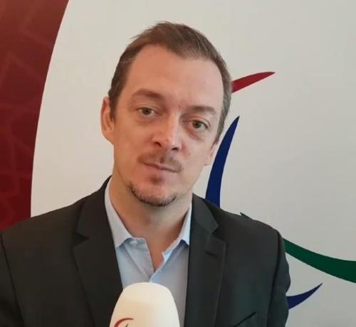 国际残奥委会新任主席安德鲁·帕森斯 (韩联社/IPC官方脸谱截图)