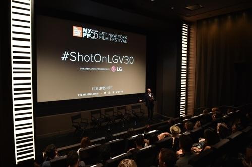 V30拍摄短片亮相纽约影展(LG电子提供)