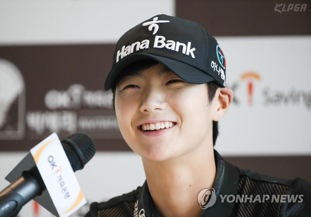 资料图片:朴城炫(韩国女子职业高尔夫协会提供)