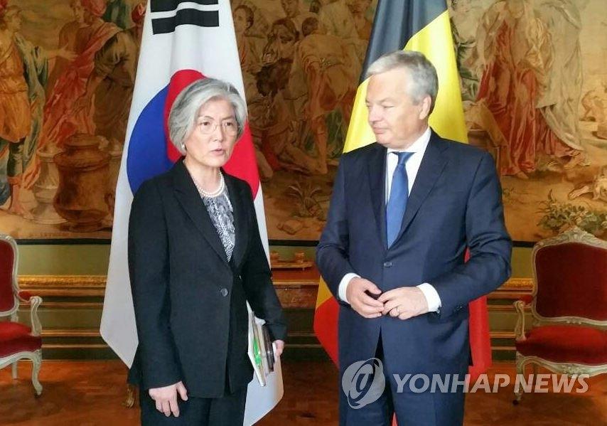 韩比外长会晤商讨朝核问题