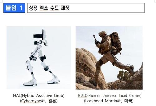 资料图片:Exo Suit制造商官网截图(韩联社)